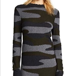 Pam&Gela Camouflage Bondage Sweater Dress